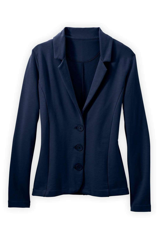 Navy structured jacket